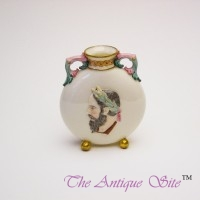 Royal Worcester Moon Vase (Flask)