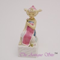 Royal Worcester Magnolia Bud Statue