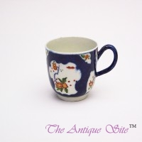 Royal Worcester Blue Beaker (Coffee Cup)