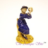 Royal Worcester Tambourine Player