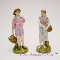 Royal Worcester French Figures