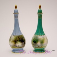 Royal Worcester Bottle Vases