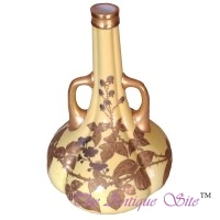 Royal Worcester Long Neck Vase