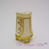 Royal Worcester Reticulated Spill Vase