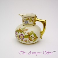 Royal Worcester Ball Jug
