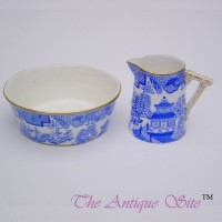 Royal Worcester Miniature Jug & Sugar Bowl