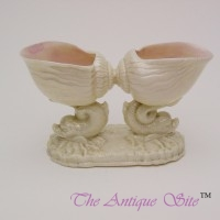 Royal Worcester Twin Shell Vase