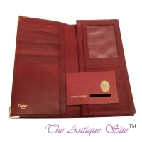 Cartier Burgundy Wallet