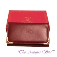 Cartier Burgundy Key Holder