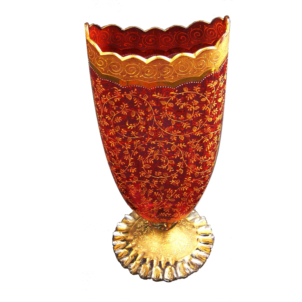 Red and gold glass vase the antique site red and gold glass vase reviewsmspy